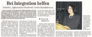 Bei Integration helfen (Sonntag Morgen-Magazin)