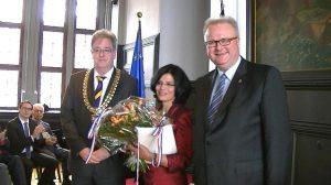 Bundesverdienstkreuz am Bande für die Vereinsvorsitzende der IAH