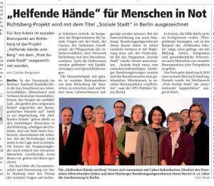 """""""Helfende Hände"""" für Menschen in Not"""