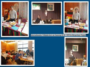 Internationales Frühjahrsfest am Samstag 02.03. 2019 im Bürgerhaus Cappel
