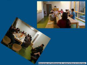 Gruppenarbeit für Integration und Demokratie