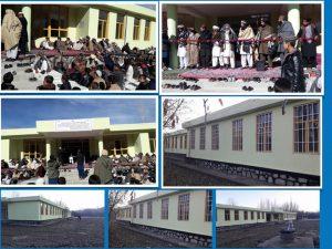 Eröffnung der Schule- Abu-Hanifa in Wardak- Afghanistan im 2019